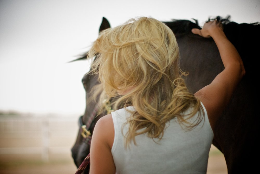 I chose Tiffanie - because I wanted a photographer to catch the small details in that moment. I loved how Tiffanie was able to capture the special bond between myself and my horse not only classy but beautiful.