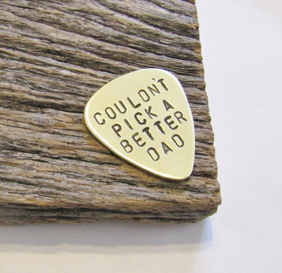 personalized guitar pick, fathers day gift, guitar pick