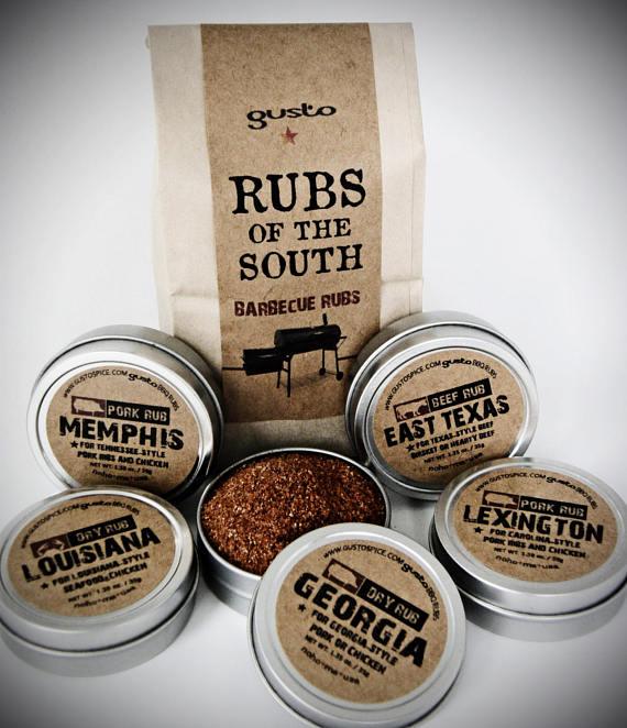 southern states, grill rub, bbq rub, etsy seller