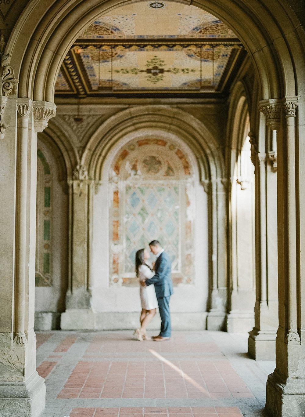 Featured - Mike & Emma's Central Park, Seaport District & East Village engagement