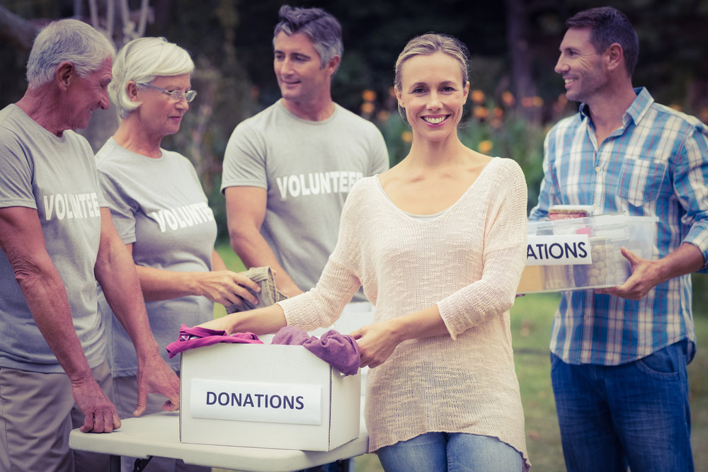 Volunteers & Donors