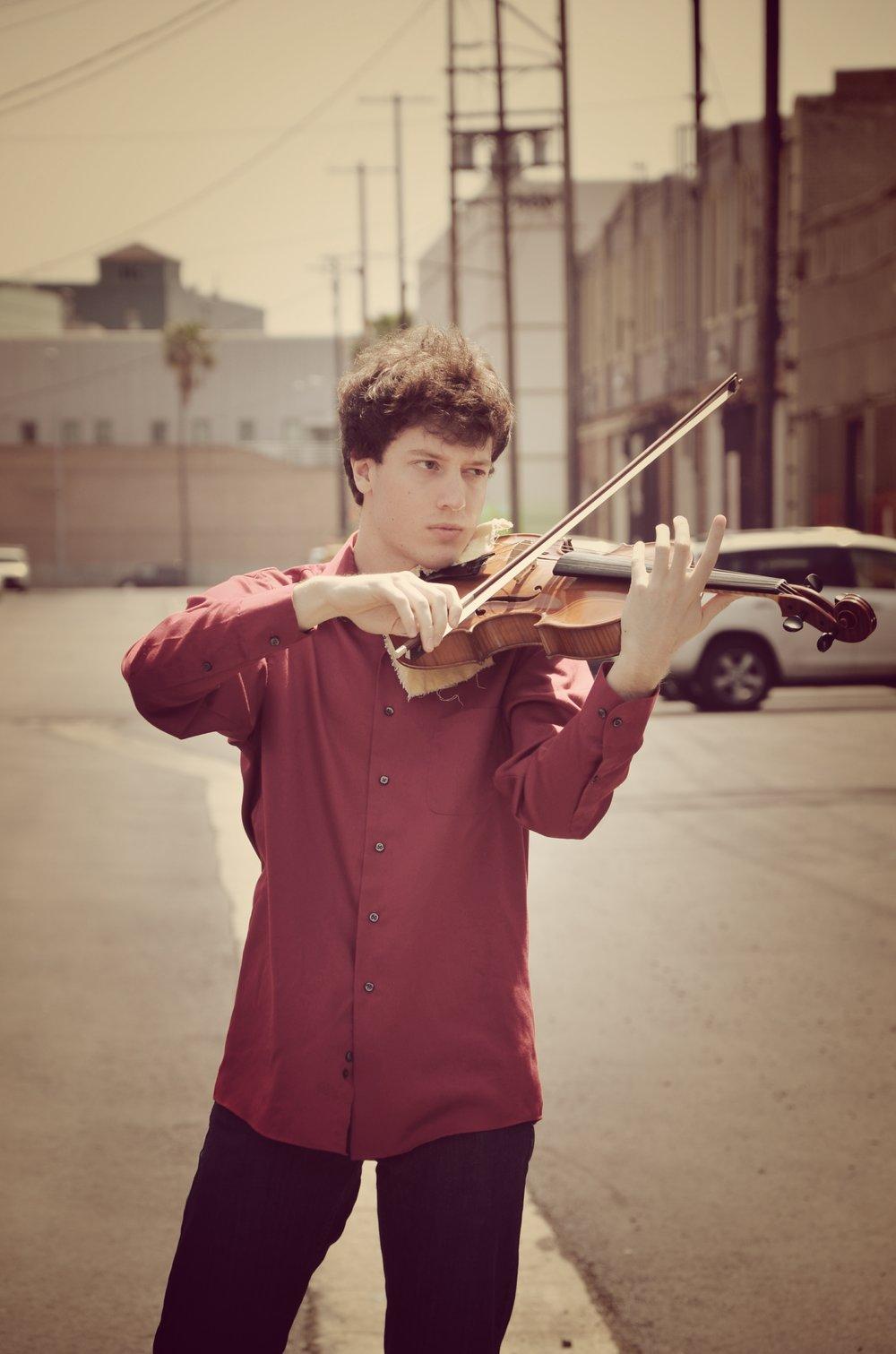 Tanner Menees , viola