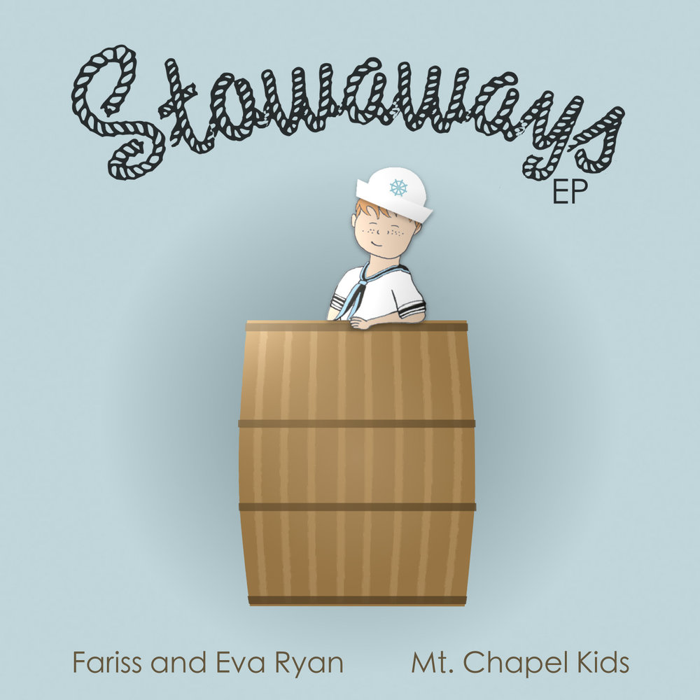 Stowaways EP was our first children's music CD. Find it on iTunes here! -