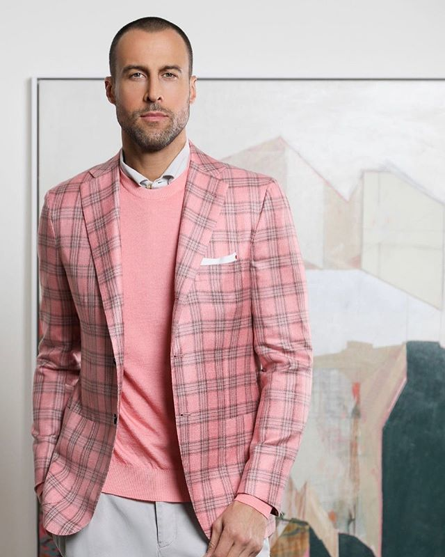 Such a great shoot for River Oaks District's Spring campaign. 📸✨ @kiton makes a statement in pink and plaid Photographer: Michelle Larson @larsongroupcreative Model: @thedantespencer from @lamodels Styling: @marzifat  Makeup: @jenmarinemakeup Hair: @louislopez07 Lighting: @josuesphotos and @rickcarlson3383  Shot on location at @rodistrict  #mensfashion #fashion #style #menswear #men #menstyle #mensstyle #ootd #fashionblogger #model #streetstyle #like #love #instagood #photography #streetwear #casualwear #highfashion #follow #photooftheday #instafashion #lifestyle #streetfashion #man #fashionista #art #outfit #picoftheday #menshair #outfitoftheday