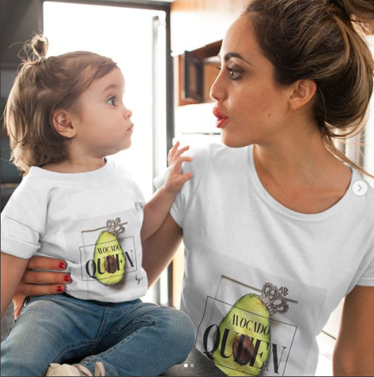 Avocado Queen Casual Premium Tee - Each of our inspired tee designs at Amazon's Exclusive Merch Shop is based on original card art from our Be The Good jewelry collection. Our line is full of icons, charms, and mementos that celebrate the best moments in our lives. #avocadoqueen