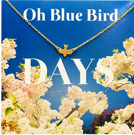 Oh Blue Bird Day Necklace