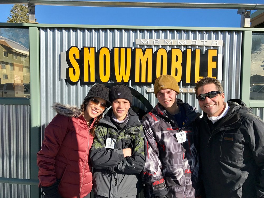 Mammoth Snowmobile Adventures