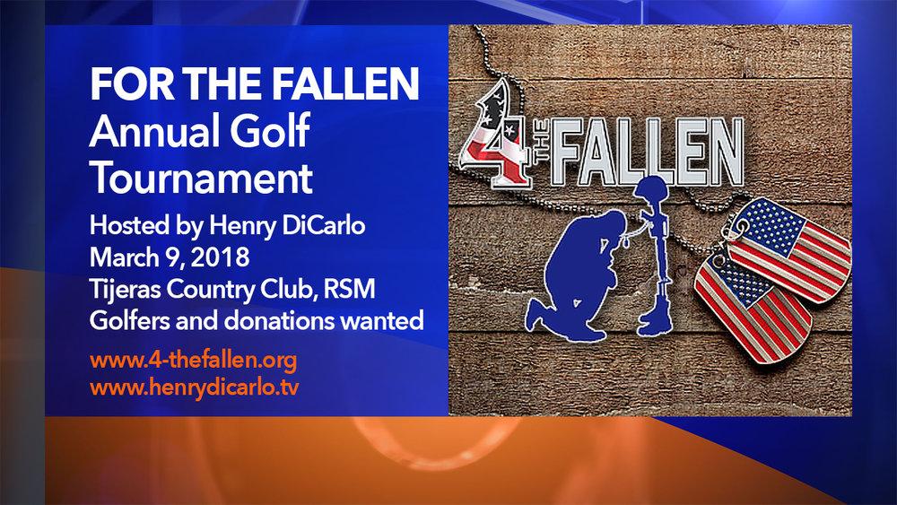 For The Fallen Golf Tournament