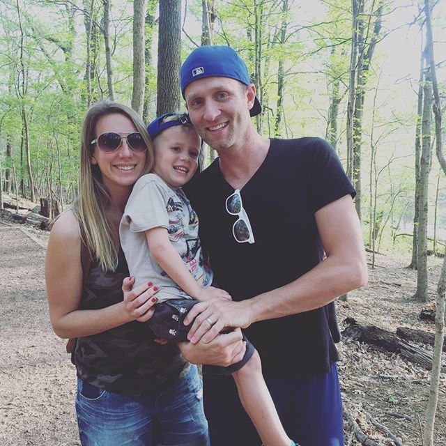 Family hike at Radnor Lake