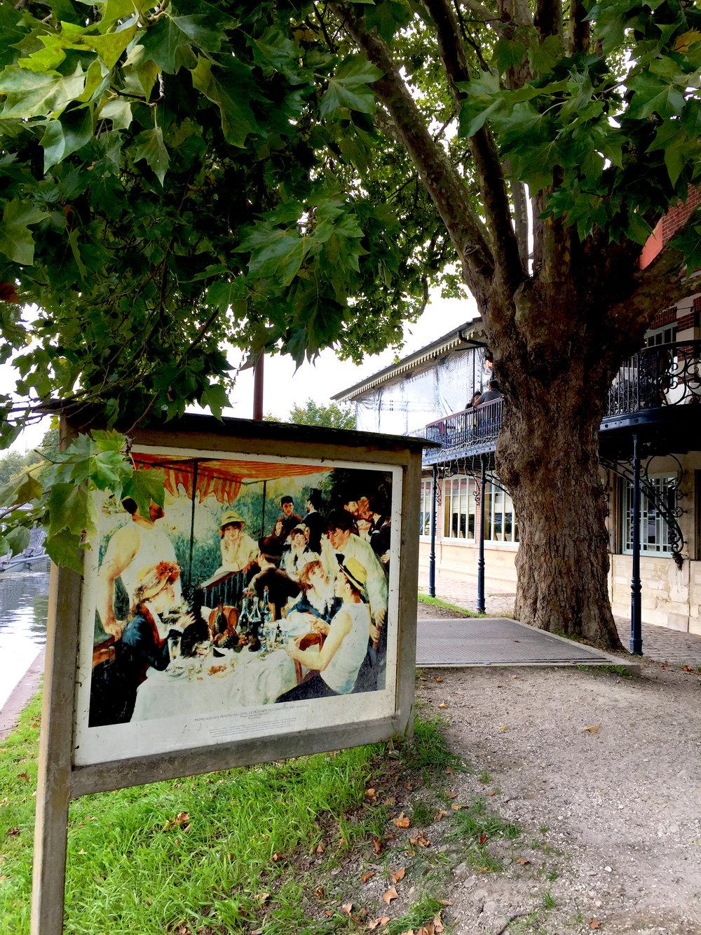 Renoir's Déjeuner des Canotiers