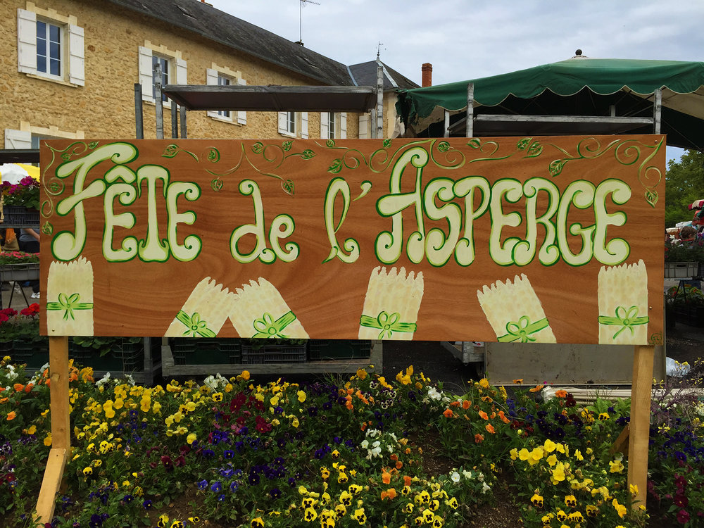 The yearly Asparagus Festival in Payrignac