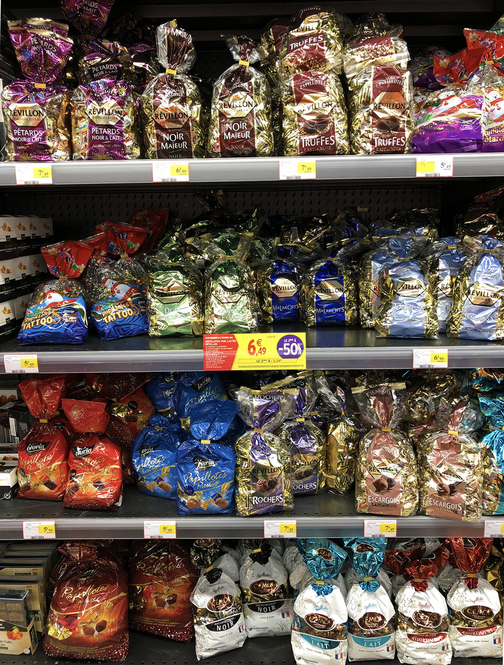 Papillotes! So many choices…