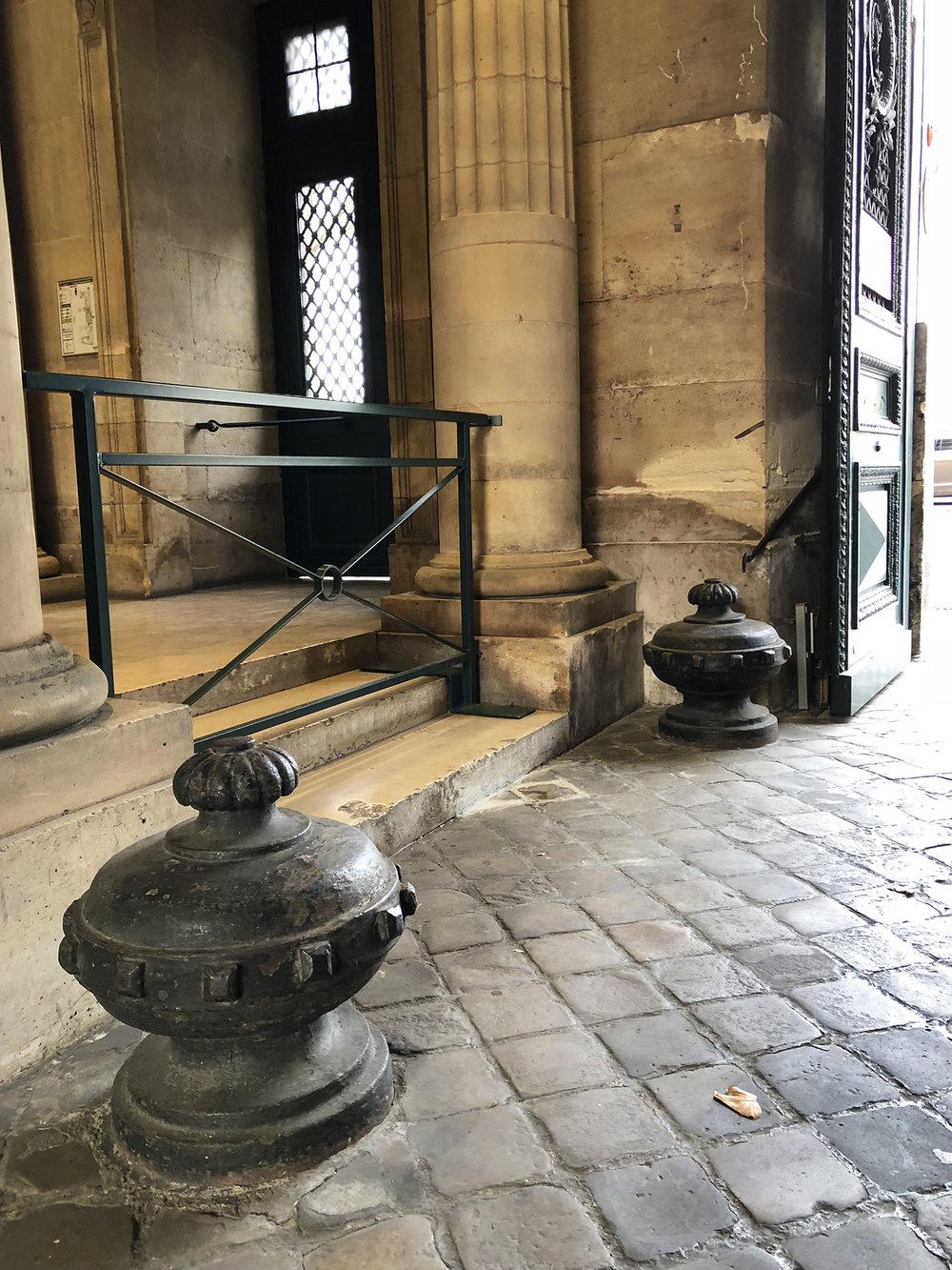 Entrance to Monnaie de Paris, quai de Conti