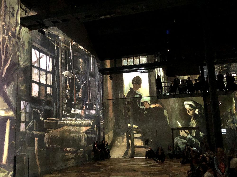 Van Gogh at l'Atelier des Lumières