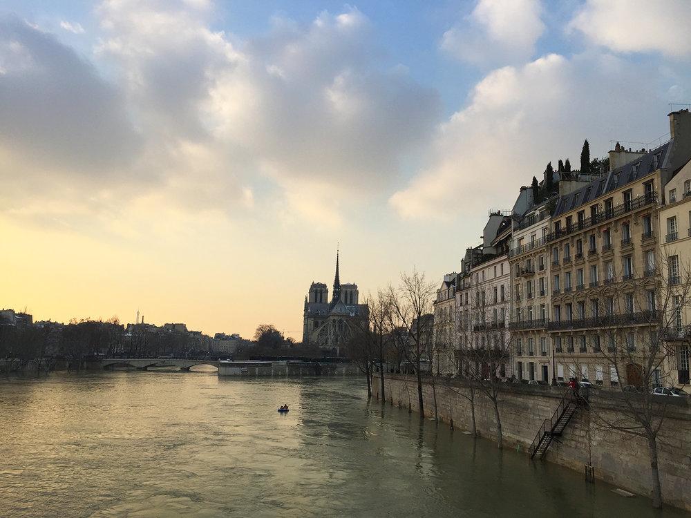 From pont de la Tournelle
