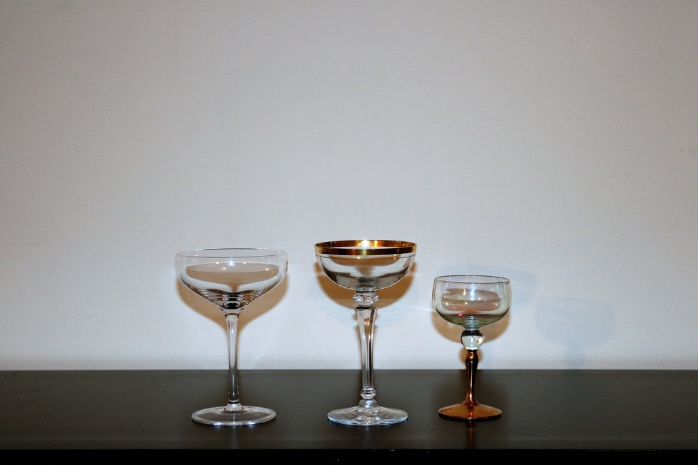 Coupes & Cocktail Glasses
