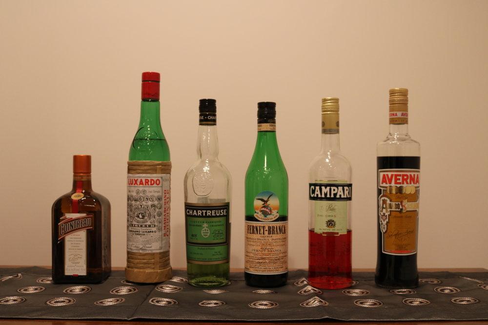 Liqueurs and Amari.JPG