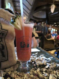 A Singapore Sling at the Raffles Hotel in Singapore, where it was invented.