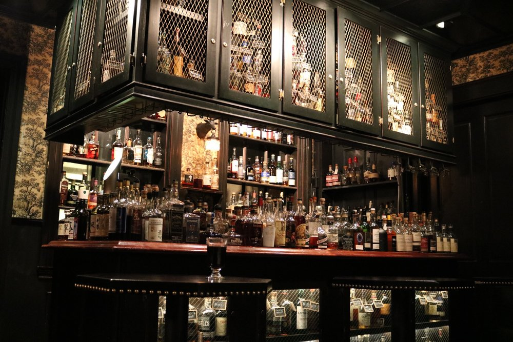 The Bar Jackalope in the Seven Grand whiskey bar in Los Angeles, CA