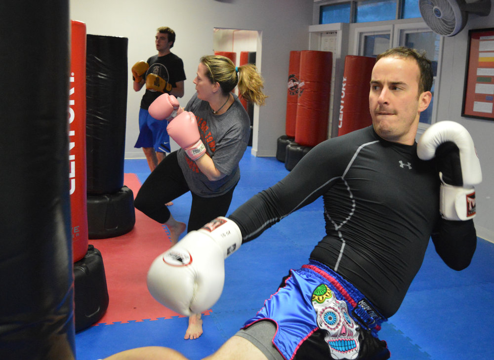 Kickboxing & Group Fitness
