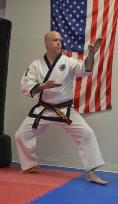 Kickboxing is instructed by Alan Ritvo. - Alan is a 4th degree black belt in Tang Soo Do and 1st degree in black belt in Combat Hapkido.