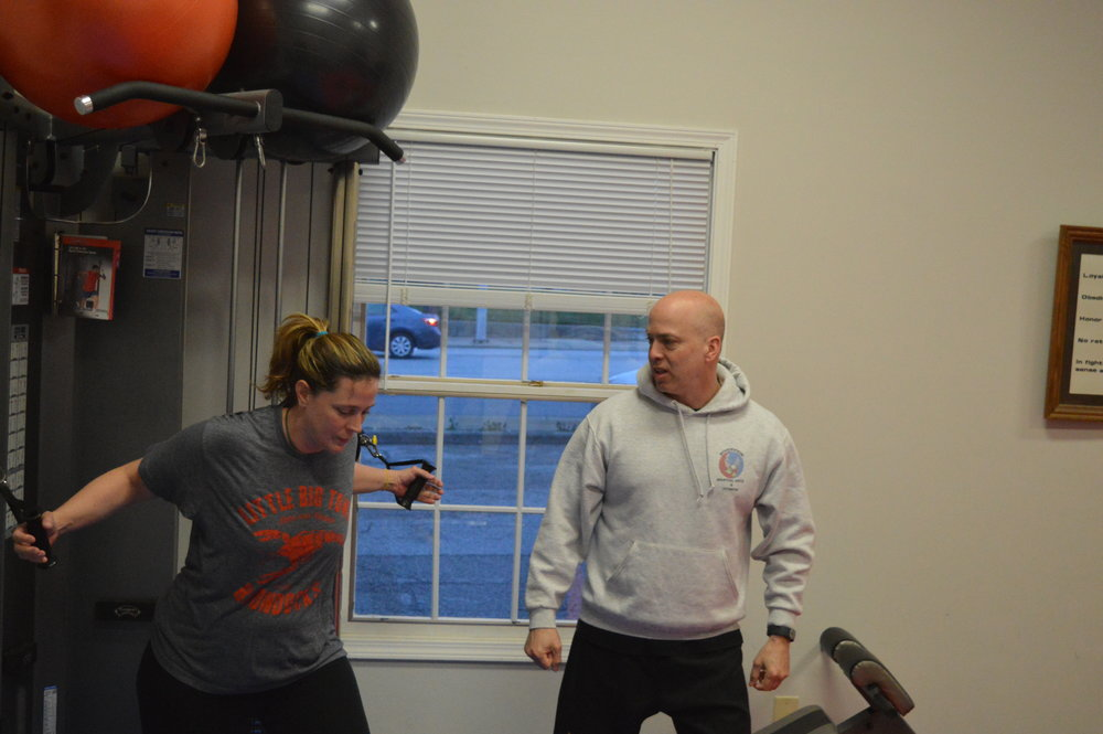 Personal Training - Hour Sessions1 x a week $45 per session2 x a week $40 per session3x a week $ 35 per session