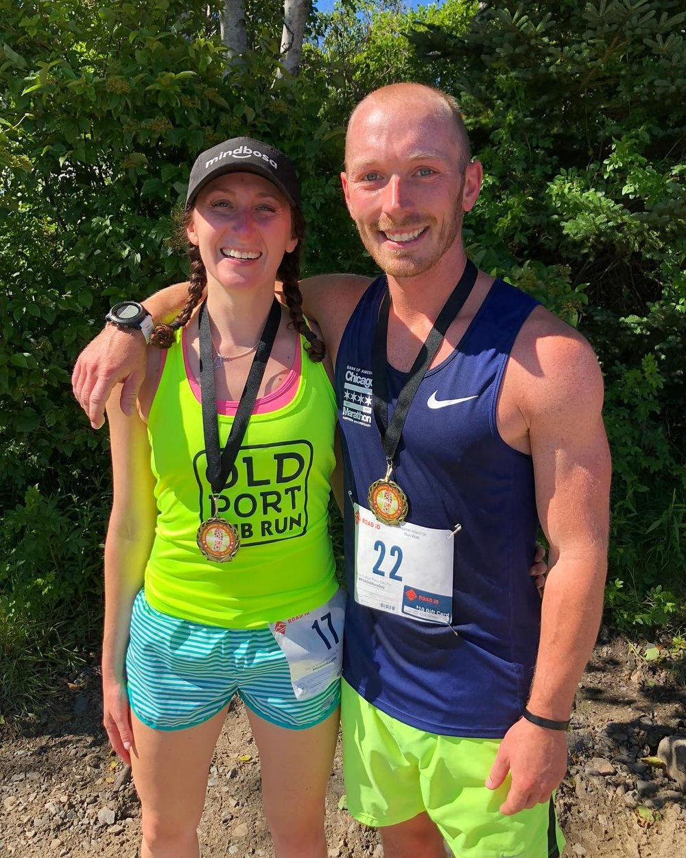 Couples who run together AND save money together, stay together! Leslie and Grant are tracking and saving money for every mile they run to help fund their fall wedding!