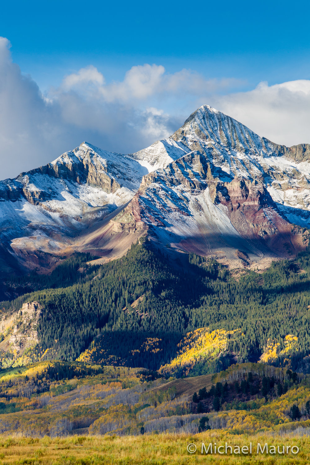 Mount Wilson - part of the San Jaun mountains in Southwest Colorado