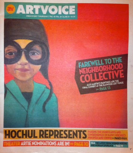 Artvoice Mag Cover