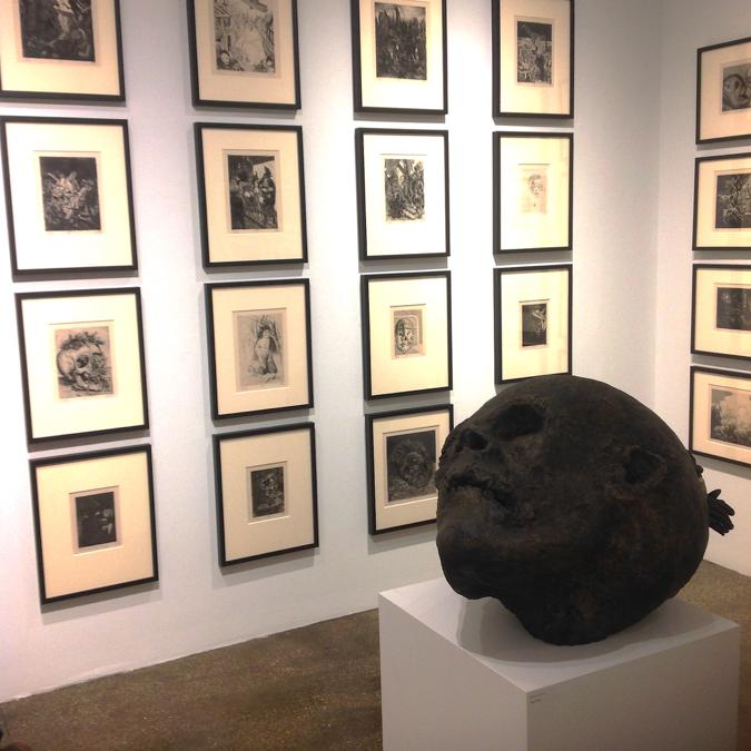 On War , printmaking exhibition  at C.G. Boerner, NYC
