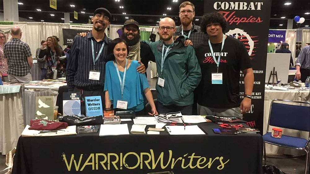 Warrior Writers & Combat Hippies at AWP Conference, March 2018