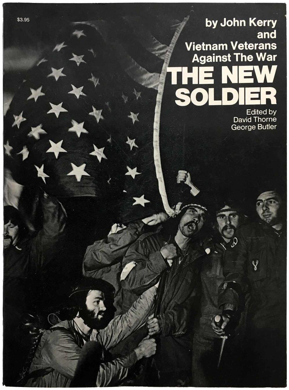 The New Soldier by John Kerry and Vietnam Veterans Against the War cover