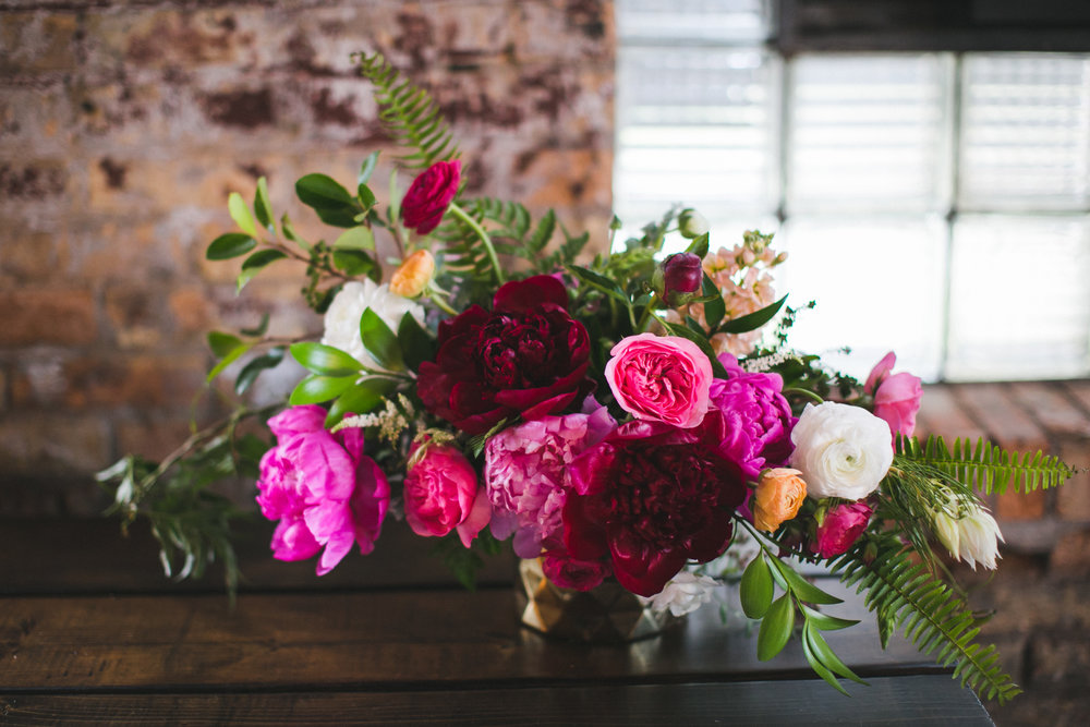 the colors were exactly what we wanted and you can't go wrong with June peonies