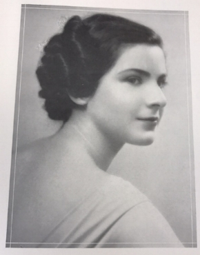 "A ""Junior Beauty"" from  The Onondagan  yearbook."