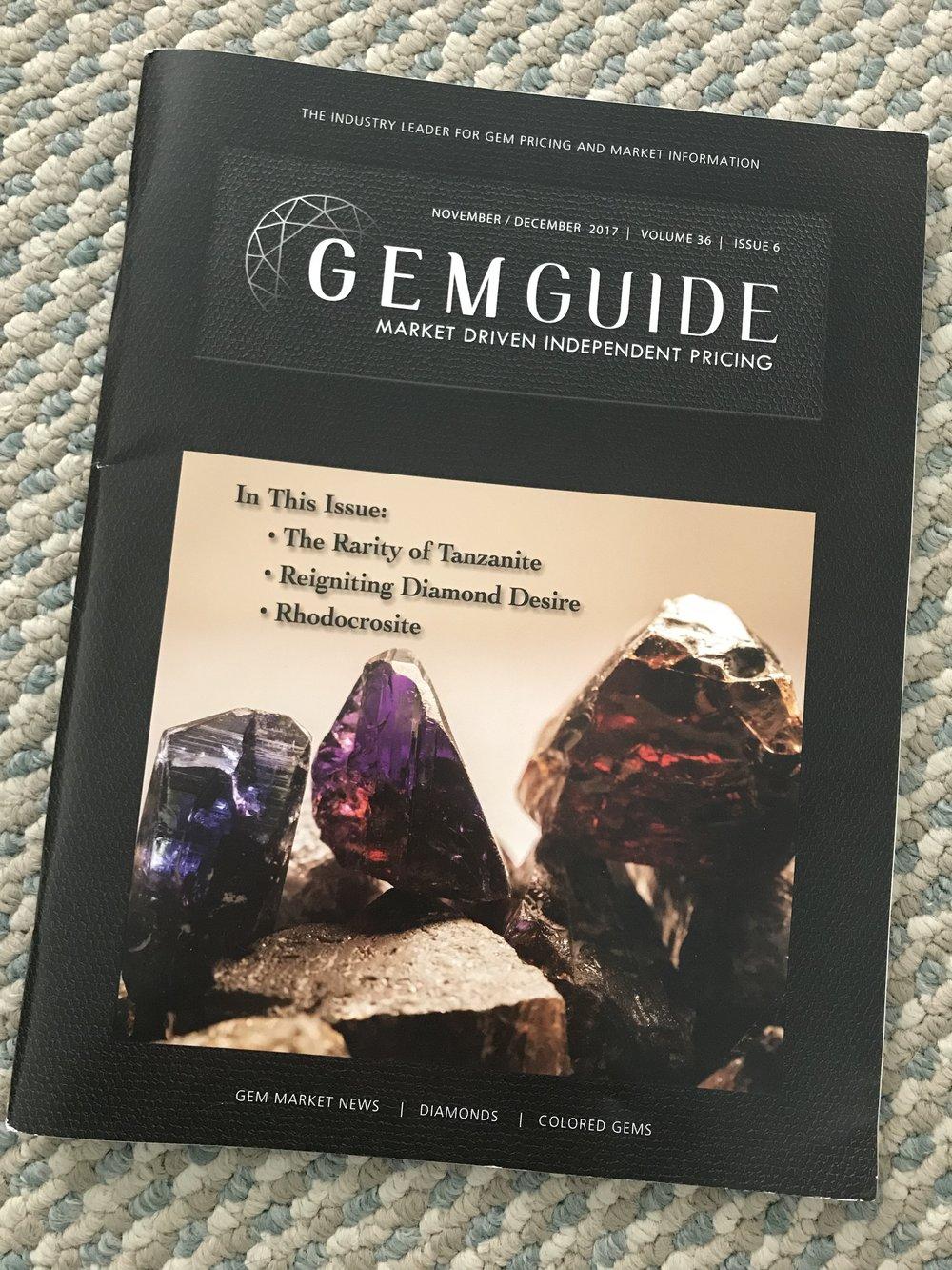 GemGuide Cover Nov/Dec 2017