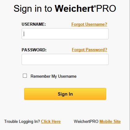 Weichert Pro    Use this tool to manage all of your contacts in your business, and to manage and update your WLN leads.