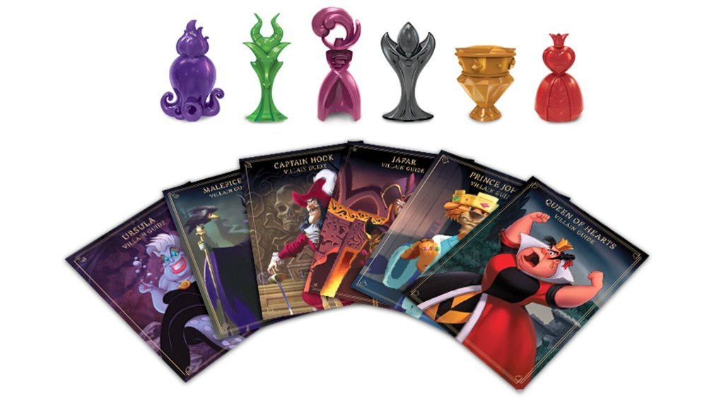 We will have plenty of board games like this one. Pick your favorite Disney villain and finally give that Peter Pan punk what deserves.