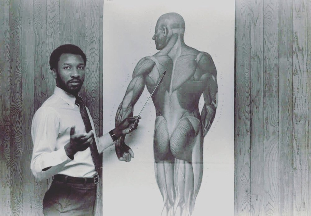 "Photo from Massage Magazine's  ""   Benny Vaughn: 40 Years Of Massage   ""  (October, 2015)."