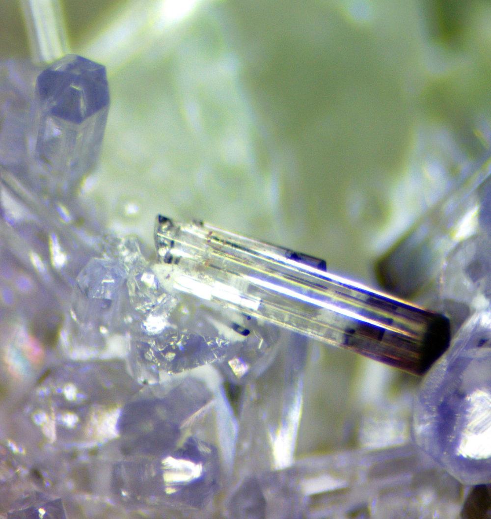 Tourmaline (broken zoned crystal)