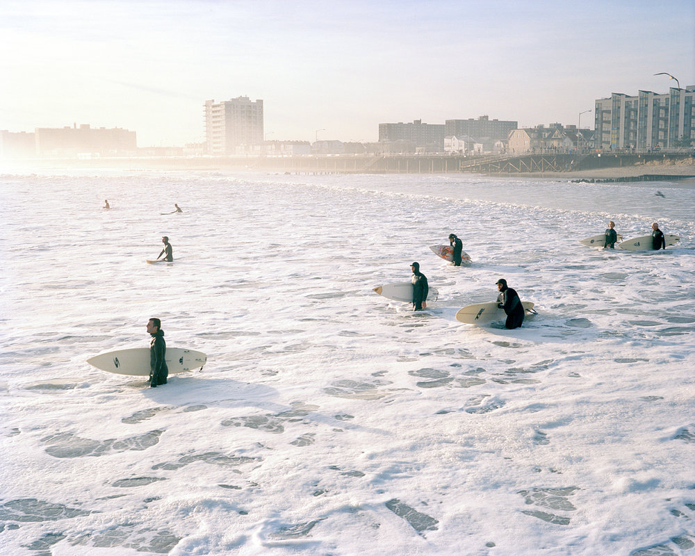 Surfers Wading Out, 2009