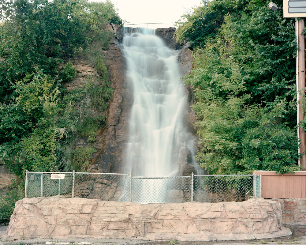 Parking Lot Waterfall, 2009