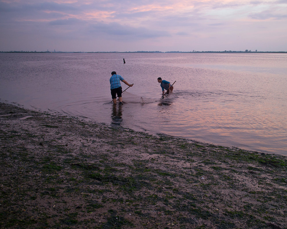 Sunset Fishermen, 2015