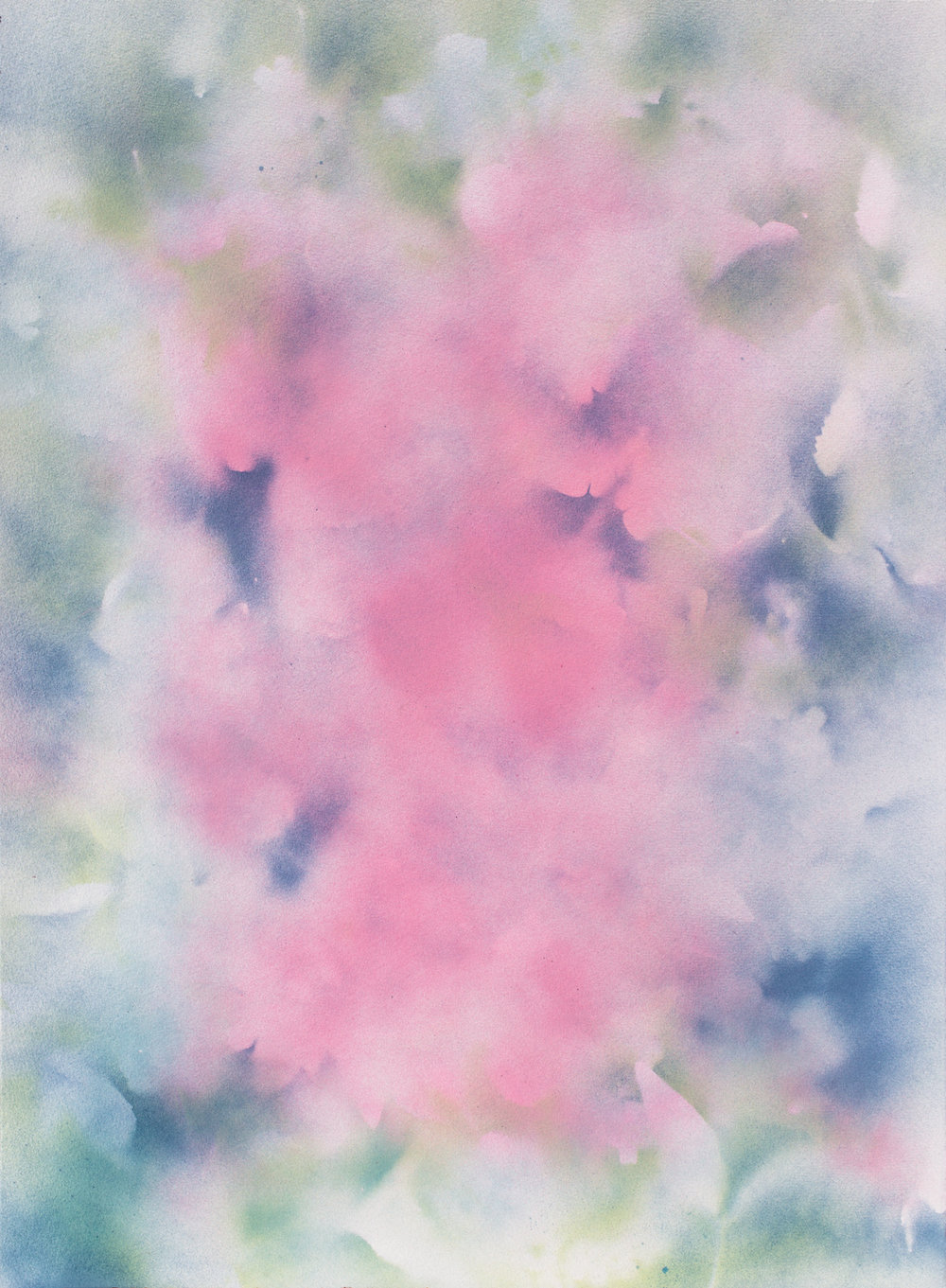 Untitled, 2016  C-print of Enamel on Paper Painting