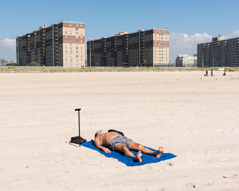 Tanning with Cane, 2018