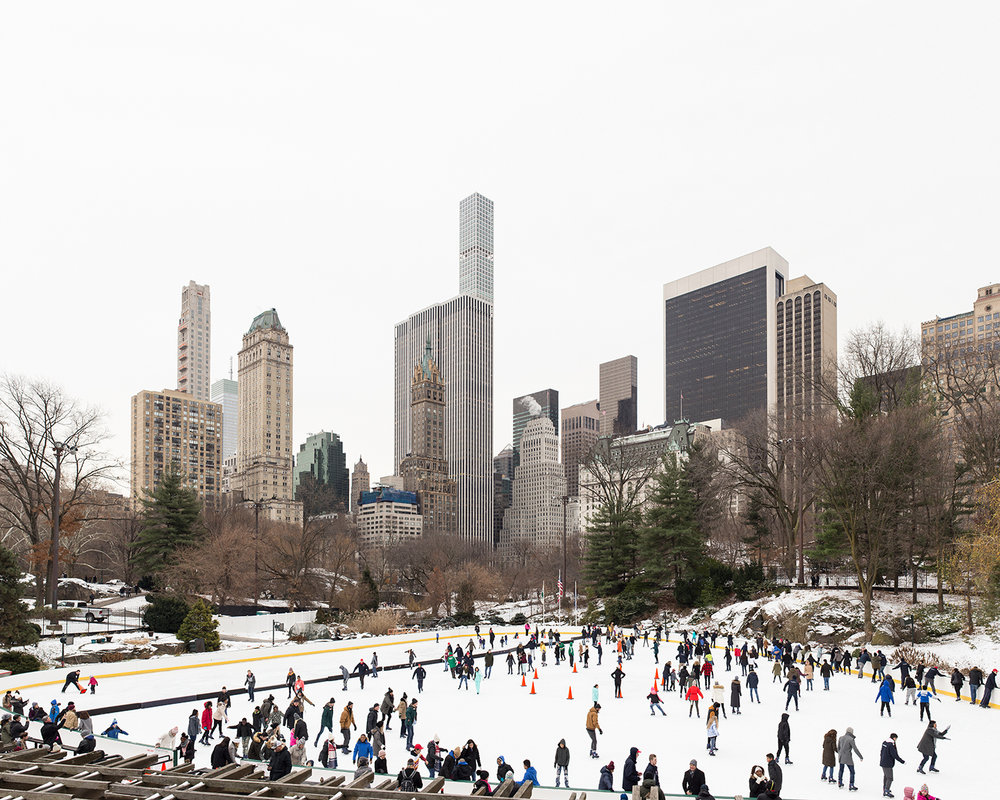 Central Park Ice Rink, 2018