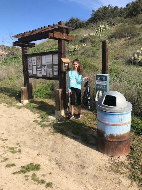 Kristal Hughes is cleaning up the trails again! - This time she took on the Manchester Preserve . One girl making a difference in our community. She is truly an inspiration to others. Thank you Kristal