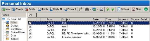 Delete E-mail Records