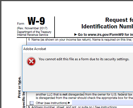 Create A Pdf Form From A Locked Pdf Active Practice