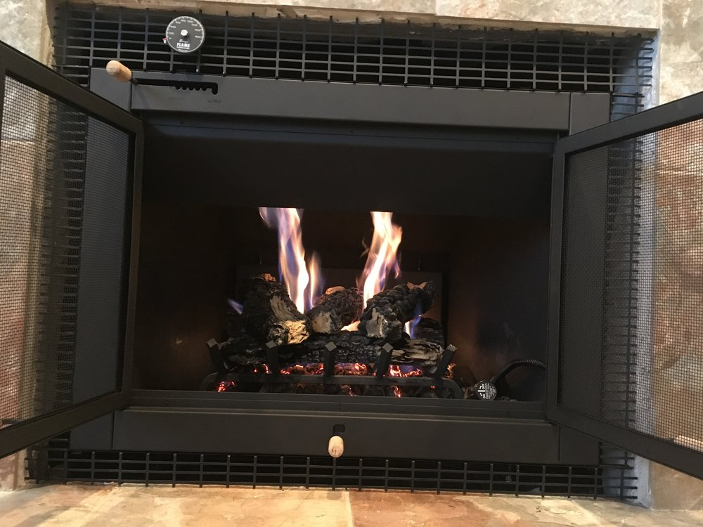 Licensed Gas Fueled Hearth Install    Installing Hearth Appliances for your Existing Home!
