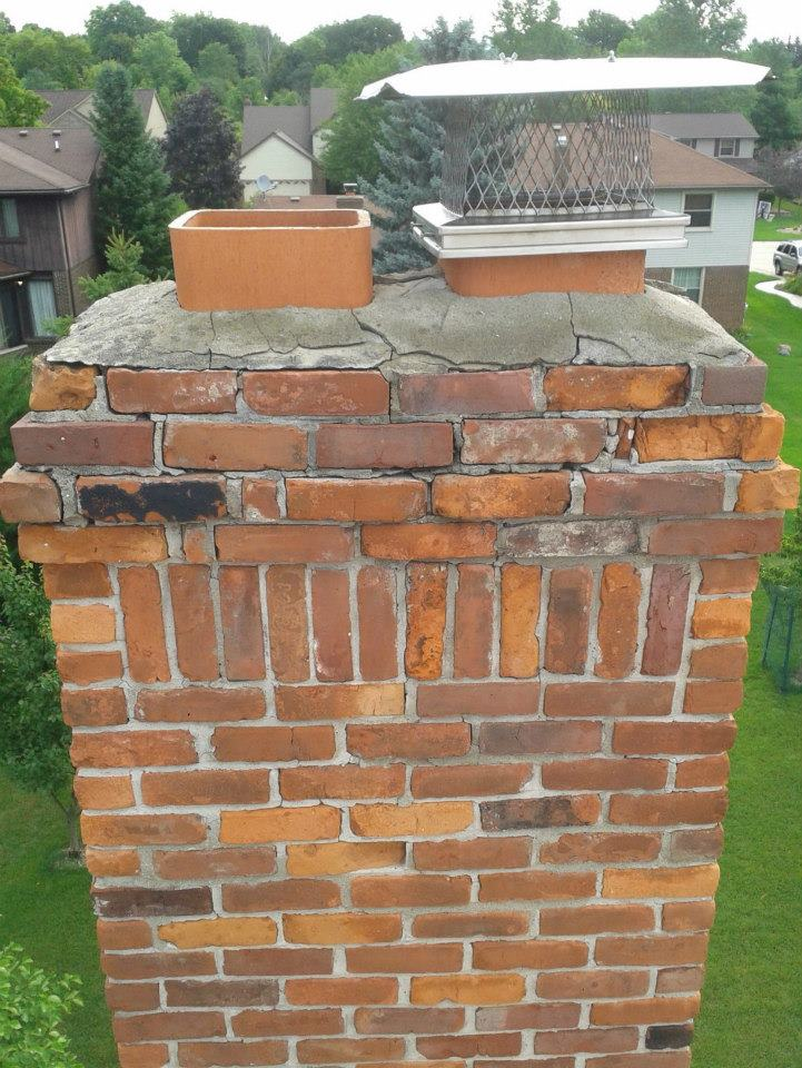 Masonry repair and tuck-pointing -